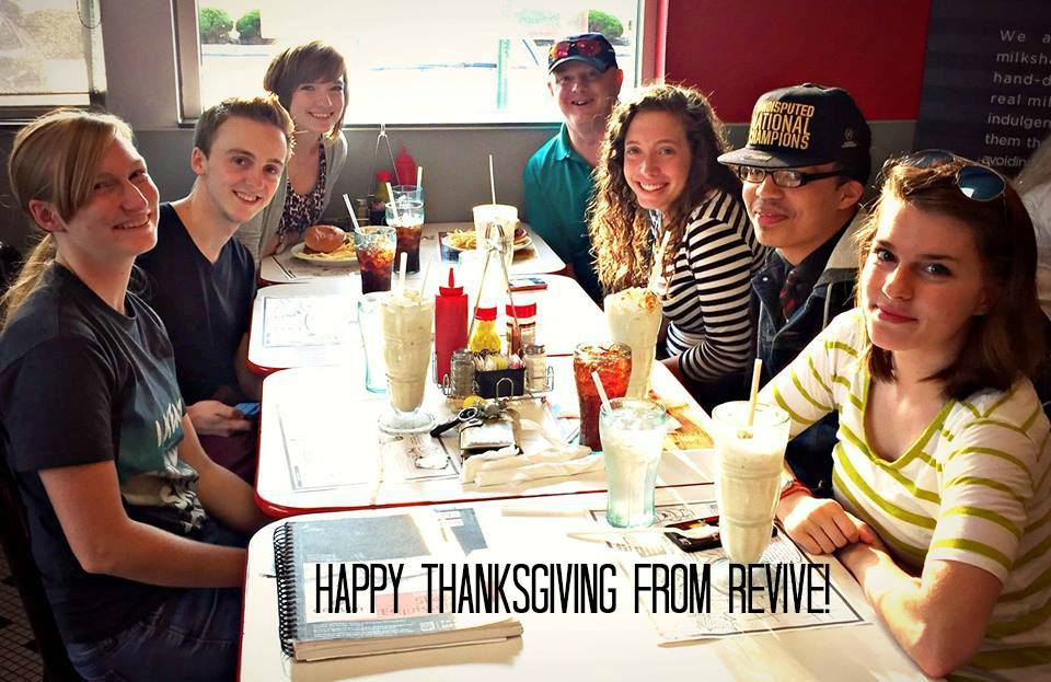 Happy Thanksgiving - pic from Steak and Shake
