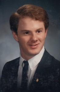 Bob's college graduation picture